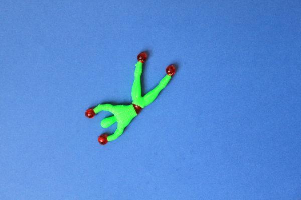 acrobate gluant